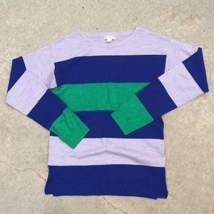 Crewcuts Striped Wool Sweater